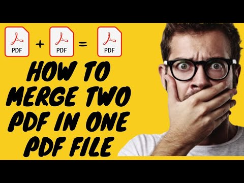 How To Merge Two Pdf File In One Pdf File In Hindi.