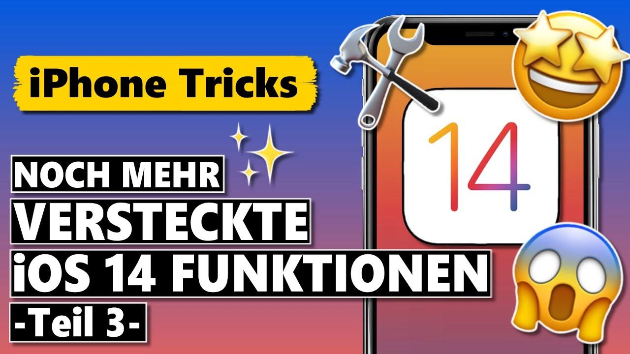 NOCH MEHR versteckte iOS 14 Einstellungen & Funktionen 🤩😱 (Teil 3)