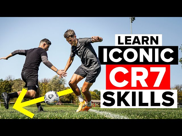 5 iconic CR7 skills every dribbler should know | Learn football skills