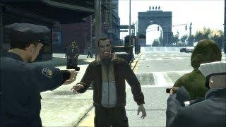 Забавные моменты в GTA 4 (2)