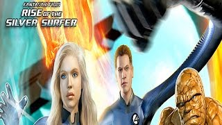Fantastic Four Rise Of The Silver Surfer Full Game Movie All Cutscenes Cinematic