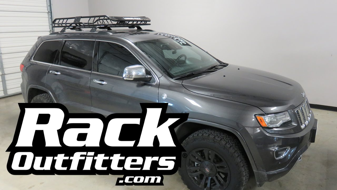 Jeep Grand Cherokee With Rhino Rack Large Xtray Roof Rack