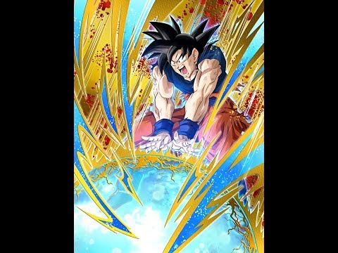 Dragon Ball Z Dokkan Battle Dokkan Awakening Super Spirit Bomb Goku
