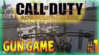 Advanced Warfare PC: Gameplay #1 | GUN GAME (Call of Duty AW Multiplayer Gameplay)