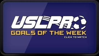USL PRO Goals of the Week -- Week 25