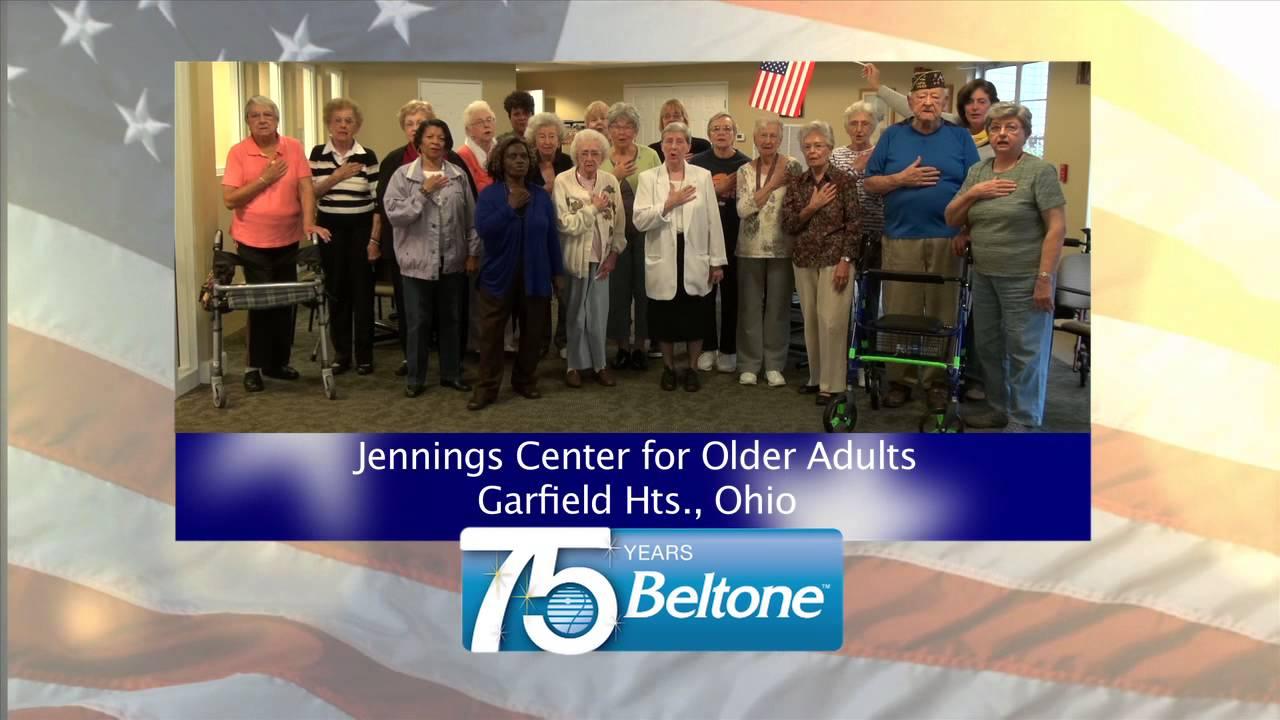 older Jenning adult for center
