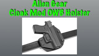 Video Alien Gear Cloak Mod OWB Holster download MP3, 3GP, MP4, WEBM, AVI, FLV Juli 2018