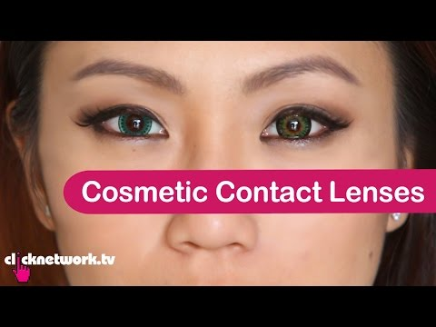Cosmetic Contact Lenses - Tried and Tested: EP45
