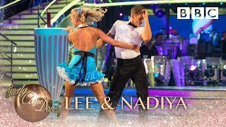 Lee Ryan & Nadiya Bychkova Jive to 'Blue Suede Shoes' - BBC Strictly 2018