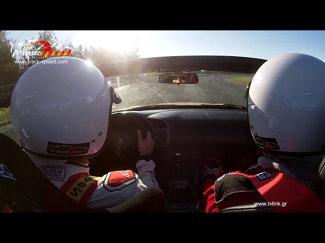 Taxi Lap in our Honda S2000 from our instructor at Serres Circuit,Track-speed.com