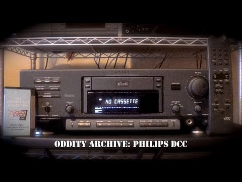 Oddity Archive: Episode 160 – Philips DCC (Digital Compact Cassette)