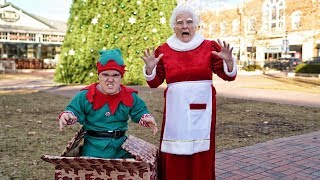 Grandma's Christmas Pranks with Elves & Rudolph | Ross Smith