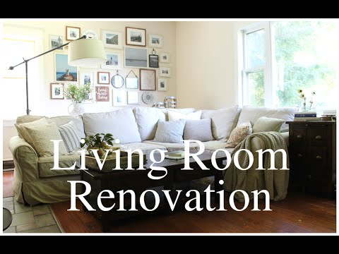 Living Room Renovation: Before & After