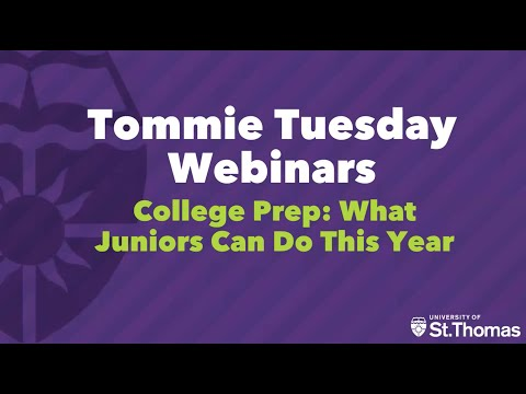 College Prep: What Juniors Can Do This Year