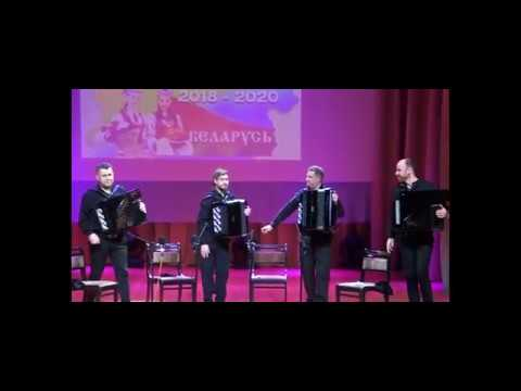 КВАРТЕТ БАЯНИСТОВ, Бах: Ария Ре мажор , BWV 1068   АККО Квартет Bach - Air D Major AKKO Quartet