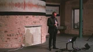 8Tones Improvisation | clarinet & live electronics | Anton Dressler