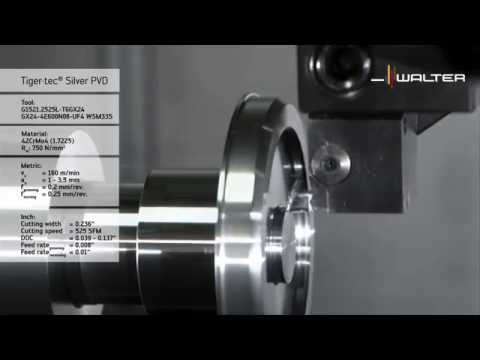 Walter Tools Cut WKP13S, WKP23S, WKP33S high-performance cutting materials for grooving