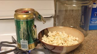 DIY Popcorn Maker for Camping