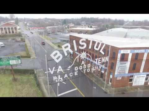 Bristol Va/Tn Drone Shots