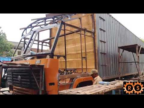 Ashok leyland 2518 Cabin n container fabrication