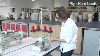 Threading the Overlock Machine