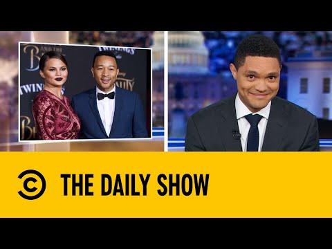 Trump Starts Twitter Beef With John Legend & Chrissy Teigen   The Daily Show With Trevor Noah