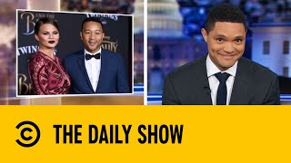 Trump Starts Twitter Beef With John Legend & Chrissy Teigen | The Daily Show with Trevor Noah