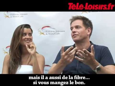 Michael Weatherly & Cote de Pablo NCIS :