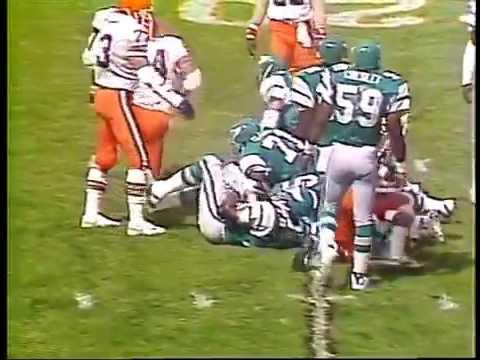 Philadelphia Eagles vs Cleveland Browns 1982 Week 2