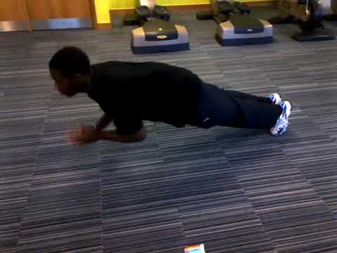 20 Clap Push Ups Throwback
