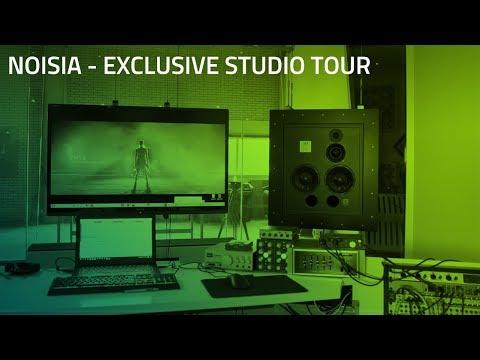 Noisia Studio Tour | Razer Music