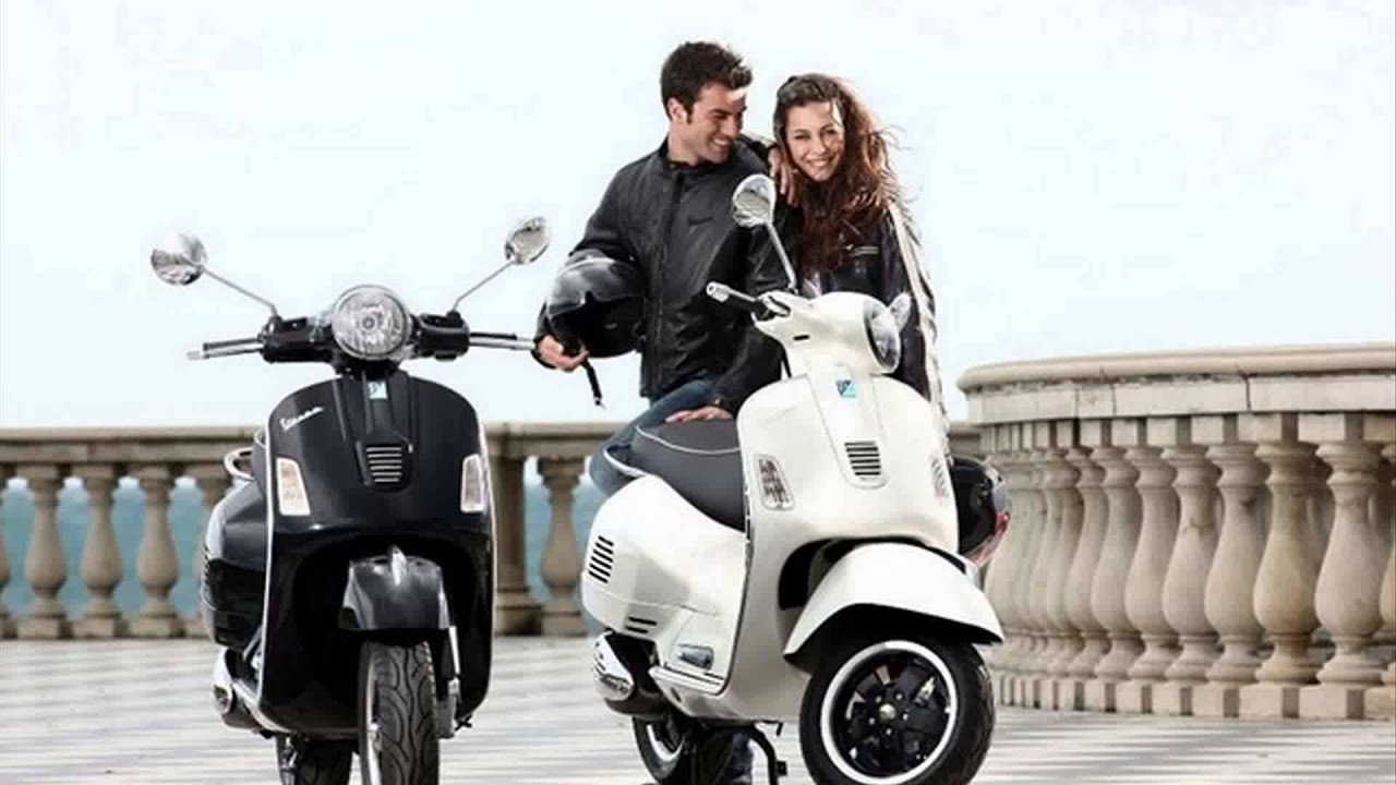 vespa gts 300 super sport youtube. Black Bedroom Furniture Sets. Home Design Ideas