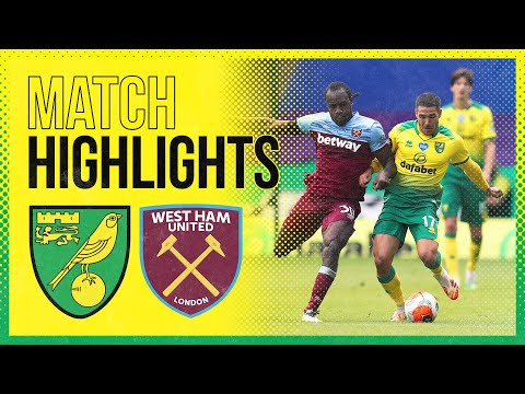 HIGHLIGHTS | Norwich City 0-4 West Ham United