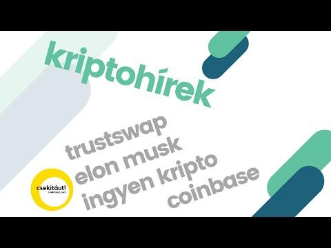 kriptohírek   elon musk   bitcoin   trustswap   ingyen kripto
