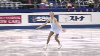 2 Polina EDMUNDS (USA) - ISU Grand Prix Final 2013-14 Junior Ladies Free Skating