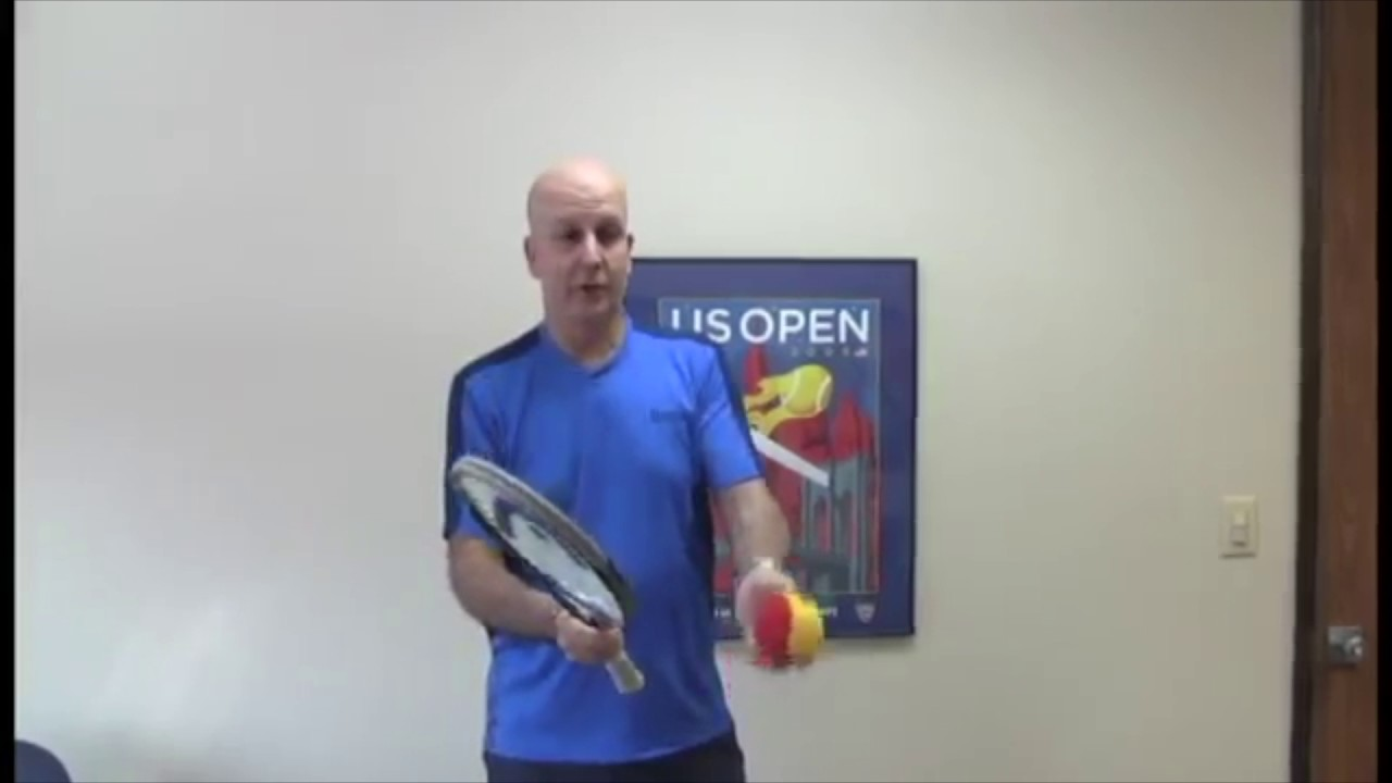 How to Practice Tennis at Home
