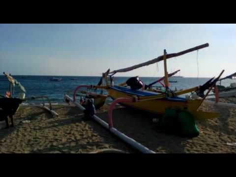 Senggigi Beach and Art Market, Lombok, Indonesia