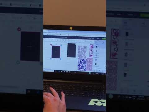 DIY Embossing Folder using Cricut Design Space