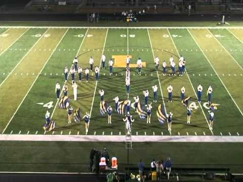 NDCL Marching Band - White Stripes 2010