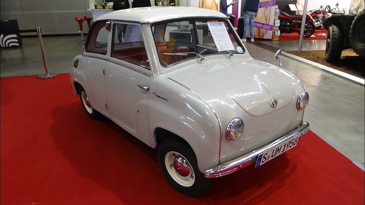1958 Goggomobil T400 Retro Classics Stuttgart 2015