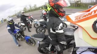 Balade 50cc et 125cc 100km en une aprem 😱 et debut de serrage