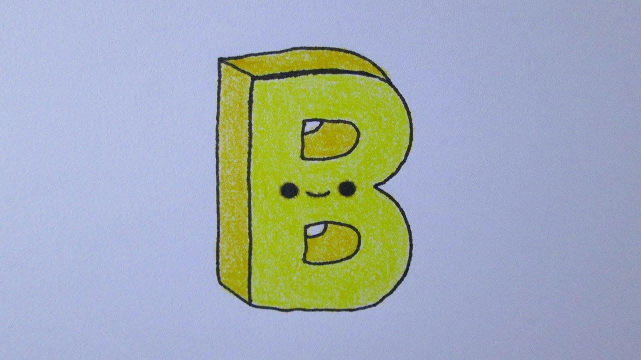 C mo dibujar la letra b youtube for La b b