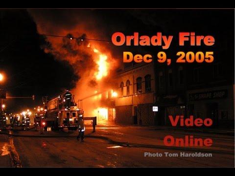 Orlady Fire Dec 9, 2005 Jamestown ND