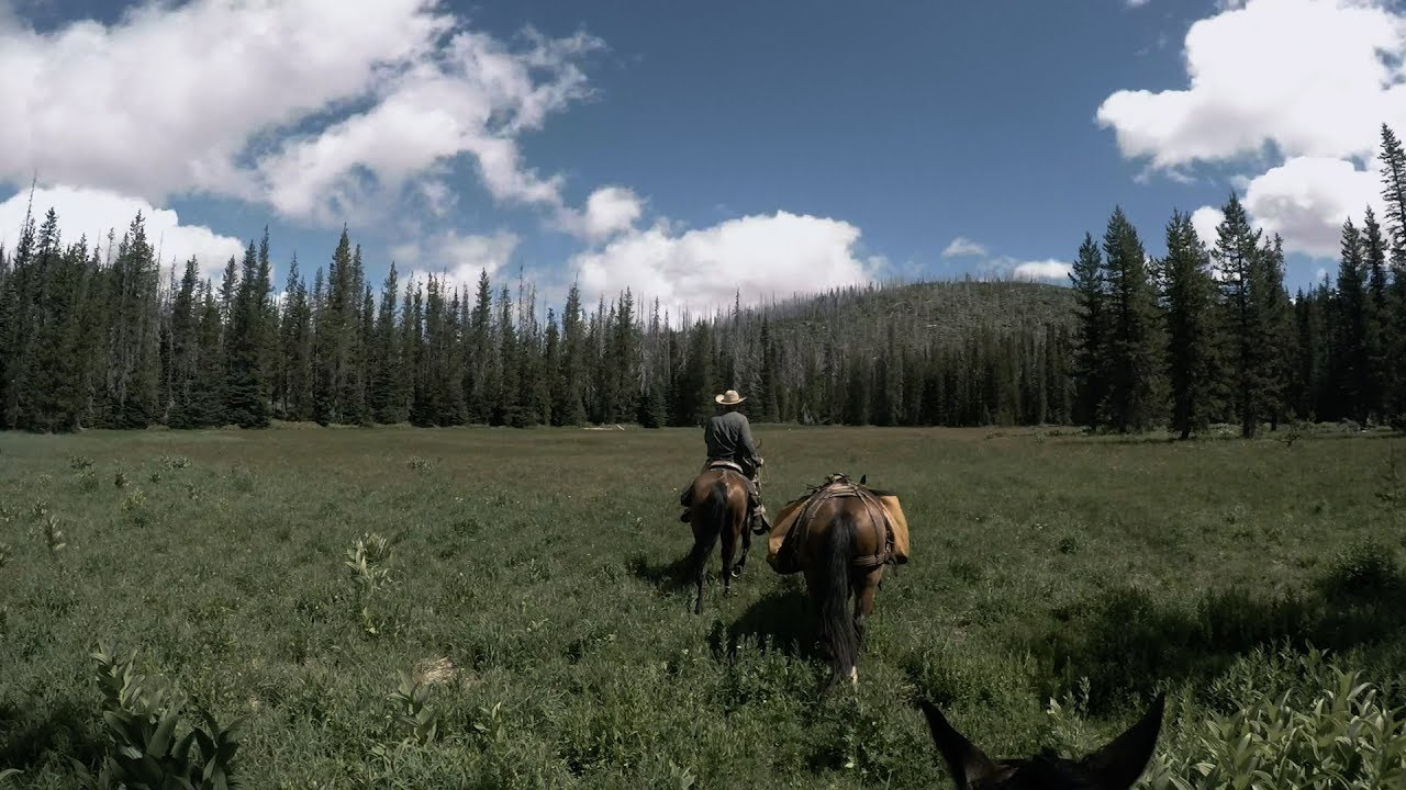 Three days on horseback in central Oregon's Eight Lakes Basin