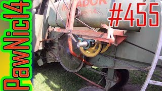 Przeróbka napędu sieczkarni w Claas Matador Gigant - Życie zwyczajnego rolnika #455