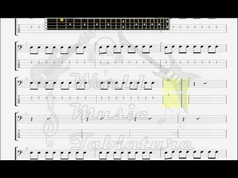 Dale, DickMisirlou Pulp Fiction Sound Track BASS GUITAR TAB