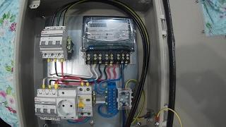 Обзор качественного щита учета электроэнергии 15кВт 380В в модернизированном исполнении. Щитучета.рф