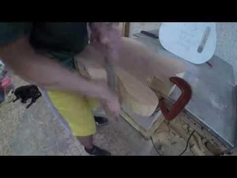 Construindo uma guitarra em casa parte 01
