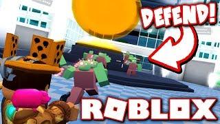 DEFEND THE CORE FROM THE ZOMBIE APOCALYPSE!! (Roblox Zombie Blitz)