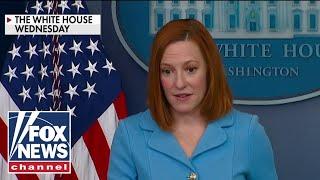 Psaki appears to 'downplay' cyberattack surge under Biden